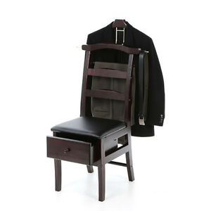 mens chair valet stand tranquil ease lift problems suit clothes dressing wardrobe catchall garment rack organizer