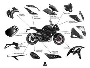 Pre-Preg Carbon Fiber Yamaha MT10 Whole Bodywork Fairing