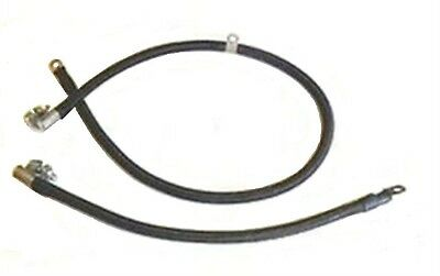 OE-Style Cloth-Jacket Battery Cables for 1953-1955 DeSoto