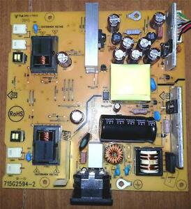 Asus VK266 LCD Monitor Repair Kit, Capacitors Only Not the