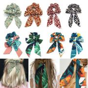 hair bands boho ponytail tie scrunchies