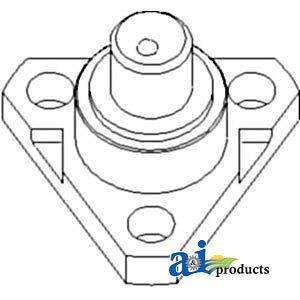 John Deere Parts ARCTIC PIVOT PIN L40036 2555,2550, 2355N