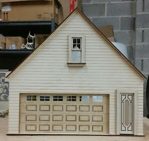 Lansdowne 112 scale Dollhouse 2 car garageworkshop