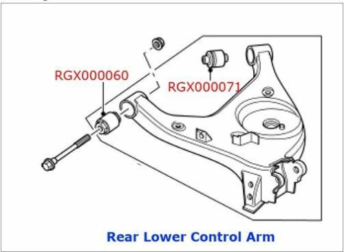 Suspension & Steering Range Rover L322 Rear Control Arm