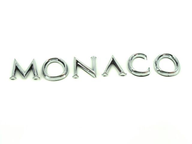 Genuine New RENAULT MONACO BADGE Logo For Megane Mk2 II