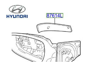 Genuine Hyundai i30 Wing Mirror Indicator Side Repeater RH