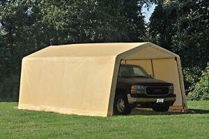 ShelterLogic 10x20 Tent Auto Storage Shed Shelter Portable