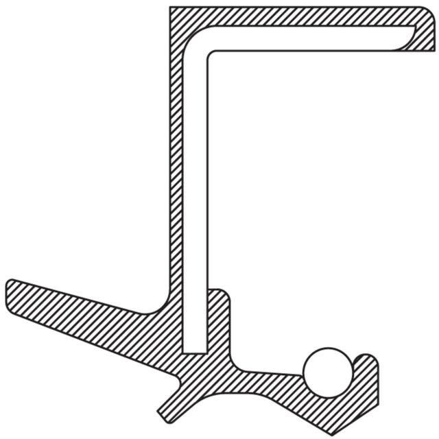 Manual Trans Output Shaft Seal-Std Trans, L3, 5 Speed