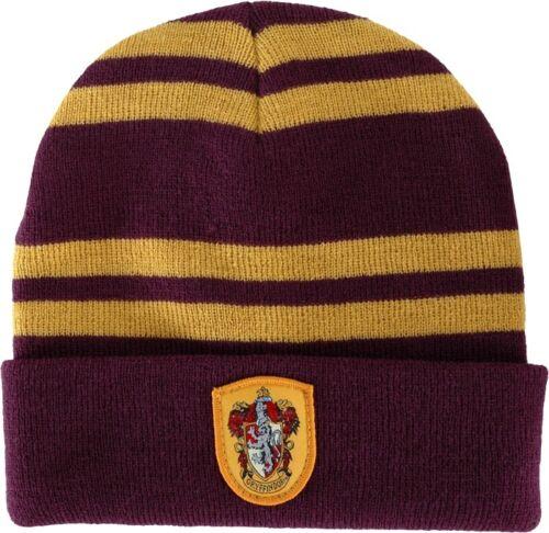 NEW-Harry-Potter-Hogwarts-Gryffindor-Beanie-Official-Licensed-Merchandise-Elope