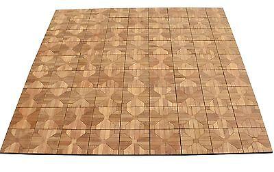 teak deck tiles 12 x 12 outdoor patio interlocking diy box of 12 floor new ebay