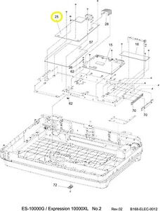 Epson 2084277 Expression 10000XL Scanner Power Supply