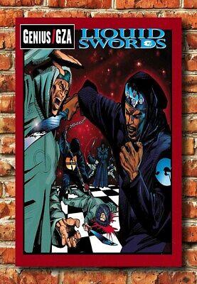 Gza Liquid Swords Zip : liquid, swords, W1005, Wu-Tang, Genius, Liquid, Swords, Poster, Album, 24x36