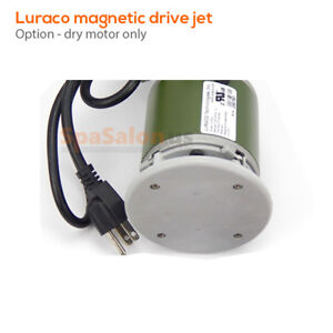 LURACO pipeless magnetic jet for spa pedicure chairs dry