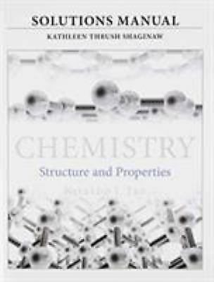 Solutions Manual for for Chemistry : Structure and