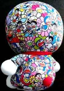 Rare!! UNIQLO Murakami Takashi Plush Limited Doraemon Kikikaikai with Tag Japan | eBay