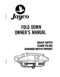 1984 Jayco Jay J-1008 J-806 J-706 J-704 Popup Trailer