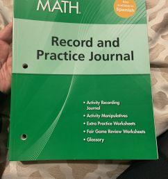 Big Ideas Math Record \u0026 Practice Journal Grade 6 Green Common Core  9781608404605 for sale online   eBay [ 1600 x 1200 Pixel ]