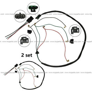 3 Wire High & Low Beam 6 Separate Plug Connector (Fit