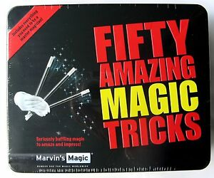 Marvins Magic Fifty 50 Amazing Magic Tricks In A Tin