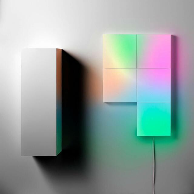 lifx tile smart led light kit with 5 tiles wifi l3tilekitin sb0764