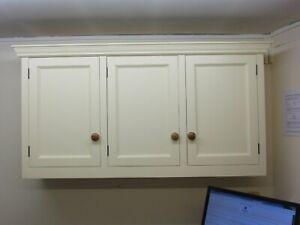 1500 X 800 Freestanding Murdoch Troon Painted Pine Kitchen Wall Cupboard Ebay