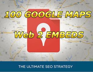 I Will Embed Your Google Map In 100 Web2 TOP Sites . 2018 SEO Strategy .