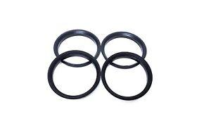 Set of 4 Hub Centric hub Rings 72.56mm OD 71.5mm ID fits