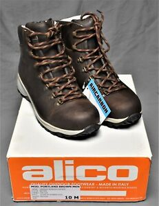 Alico Hiking Boots : alico, hiking, boots, Alico, Leather, Backpacking, Hiking, Trekking, Boots, Shoes, Men's, Italy