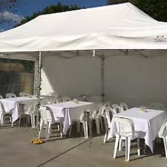 Chair Cover Hire Guildford Bamboo Side Star Party Shop Table Marquees Stage Tent