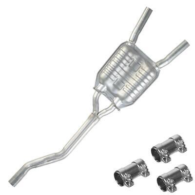resonator pipe fits 2005 2009 audi a4 quattro 2 0t ebay