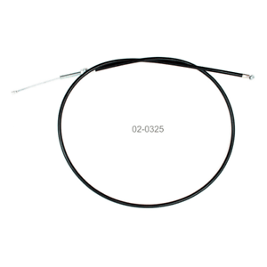 Black Vinyl Clutch Cable~2003 Honda VT1100C Shadow Spirit