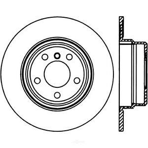 Disc Brake Rotor-3.0i Rear Centric 121.34051 fits 2004 BMW