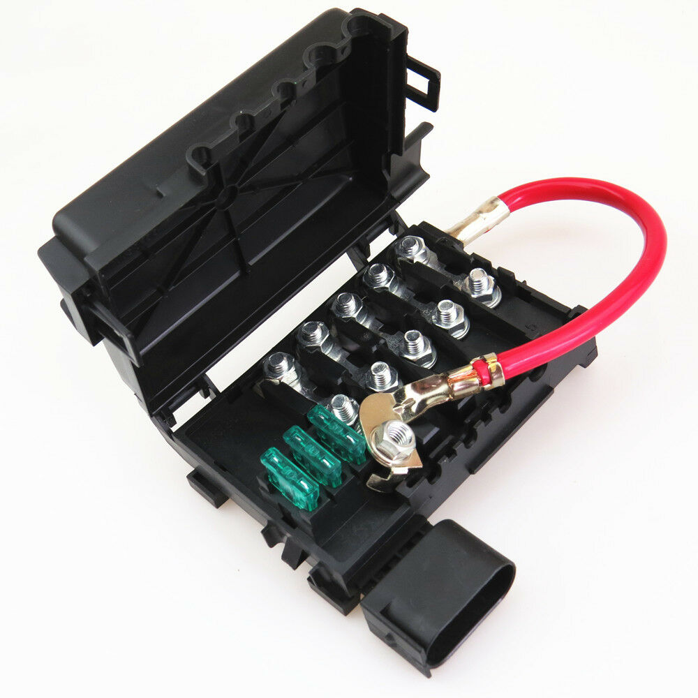 medium resolution of details about car battery fuse box for vw golf bora jetta mk4 beetle audi a3 s3 seat toledo