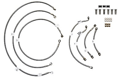 Galfer Stainless 5 Line Kit Front & Rear BMW R1150RT-ABS