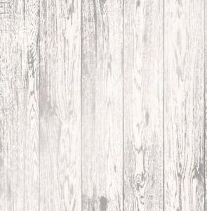 details sur papier peint effet bois en difficulte grain en bois loft bois blanc argent metallique afficher le titre d origine