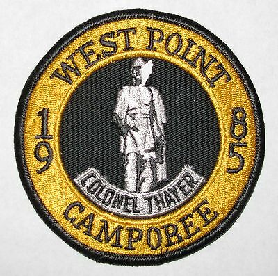 West Point Camporee 1985 Pocket Patch Bsa Ebay