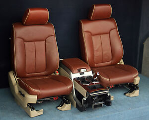 Image Is Loading 2010 2009 Ford F150 King Ranch Front Seats
