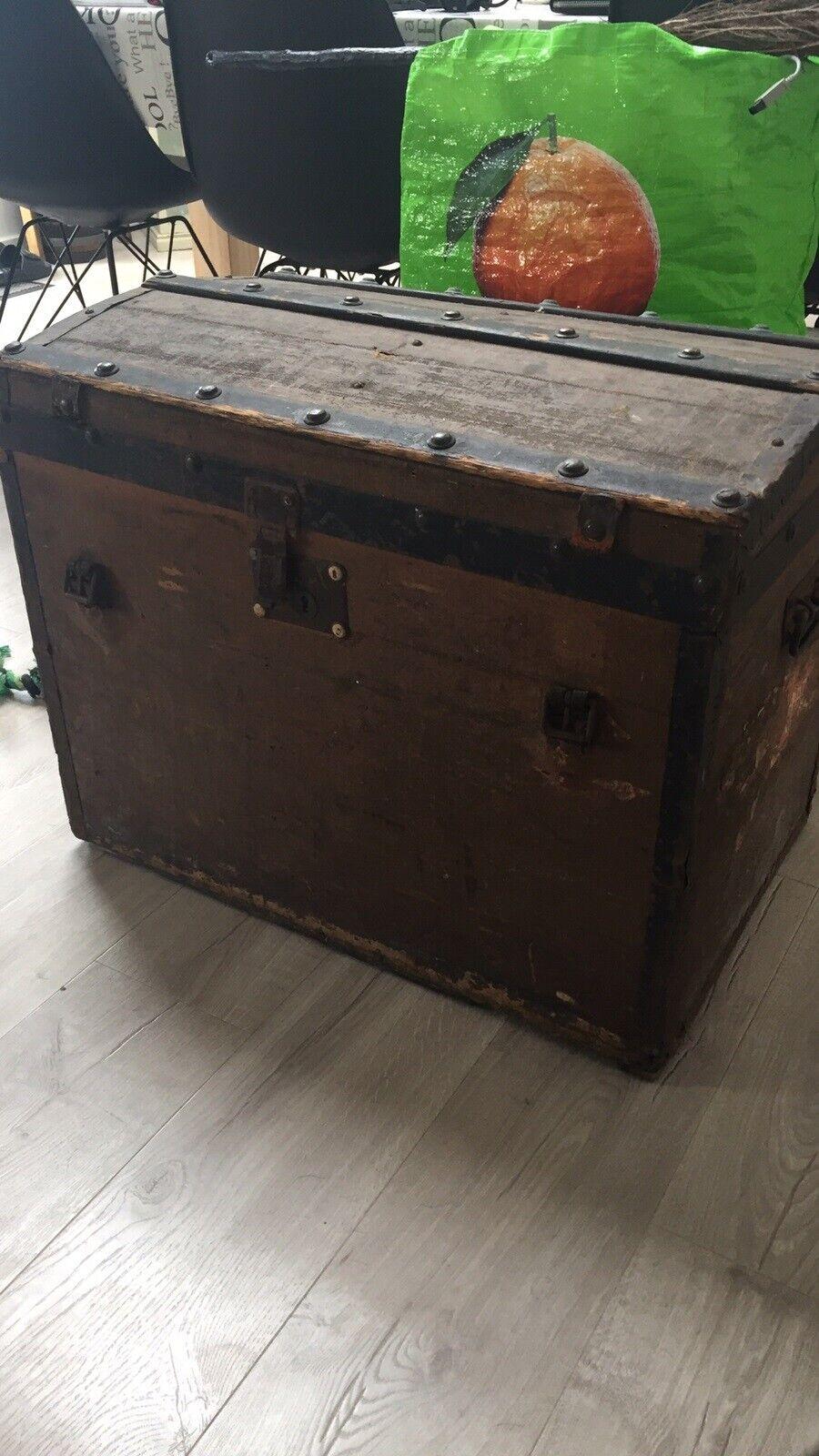 Gammel Kuffert Kiste Dba Dk Kob Og Salg Af Nyt Og Brugt