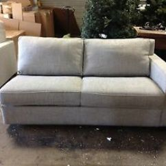 Pottery Barn Sleeper Sofa Ebay Narrow Depth Leather West Elm Henry Sectional Right Arm Bed Image Is Loading