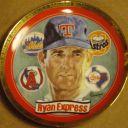 "1993 Nolan Ryan""Ryan Express""Hamilton Mint Limited Edition Collector Plate #38 B"