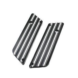 Billet Aluminum Saddlebag Latch Cover Fit For Harley FLT