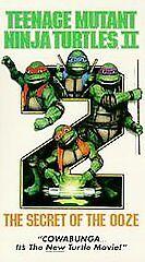 Secret Of The Ooze : secret, Teenage, Mutant, Ninja, Turtles, Secret, (VHS,, 1991), Online