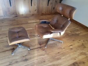 herman miller chairs vintage folding chair drawing charlton company eames style lounge with image is loading