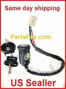 4 Wire Ignition Switch Diagram Atv : ignition, switch, diagram, Ignition, Switch, Honda, CT100, 110cc, Moped, Scooter, Wires, Taotao