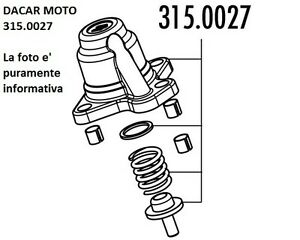 315.0027 Lid Regulator polini aprilia sr 50 R-FACTORY