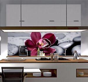Küchenrückwand AcrylGlas GlasLook Spritzschutz Herd Fliesenspiegel Motiv SP133 eBay