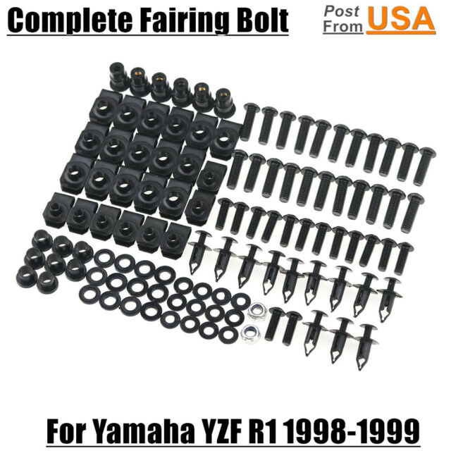 US Stainless Complete Fairing Bolts Kit Body screws For