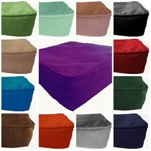 sofa box cushion covers large india cover patio polyester custom made all image is loading