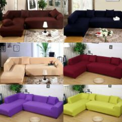 Sofa Covers Online Dubai Super Sleeper Couch L Shape Best House Interior Today Universal 2pcs Fabric Stretch Slipcovers Rh Ebay Com
