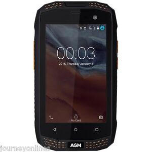 "AGM A2 Rio 4G Smartphone 4.0"" Android 5.1 Quad Core 2GB+16GB Waterproof Black"